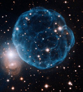 Gemini Image Captures Elegant Beauty of Planetary Nebula Discovered by Amateur Astronomer